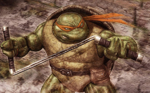 Michelangelo - Teenage Mutant Ninja Turtles wallpaper