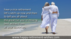 retirement celebration wishes co-workers