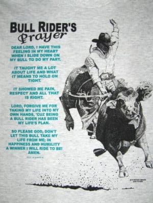 The bull riders prayerRodeo 3, Bull Rider, Rodeo Bulls, Rodeo Quotes ...