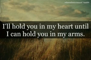 ll hold you in my heart always