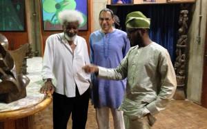 Teju Cole (accompanied by Siddhartha Mitter) met up with Wole Soyinka ...