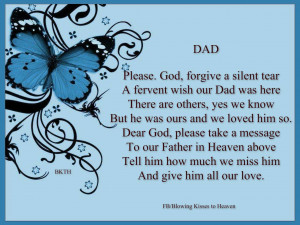 Missing Dad in Heaven Quotes Missing my Dad in Heaven