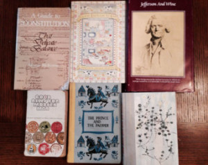 ... Twain, Joy of Cooking, Reader's Digest, A Guide to the Constitution