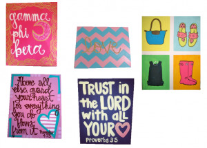 Cute Canvas Painting Quotes I'm painting some canvases