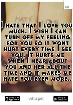 You Hurt Me Quotes For Her ~ We cant be friends anymore on Pinterest ...