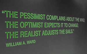 Funny Quotes About Optimism Pessimism
