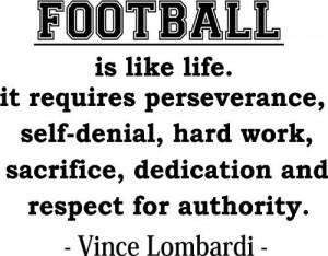 quotes requirements perseverance football inspiration quotes football ...