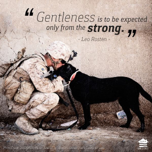 Gentleness is to be expected only from the strong. So much truth in ...
