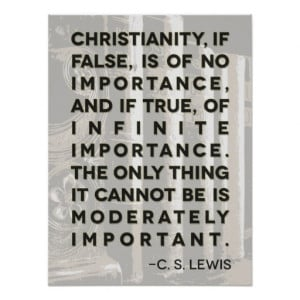 Lewis Quote Poster -