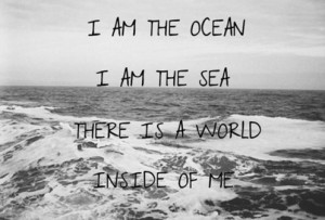 ... me the horizon, courage, crucify me, quote, sea, strong, true, world