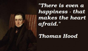 Thomas hood famous quotes 1