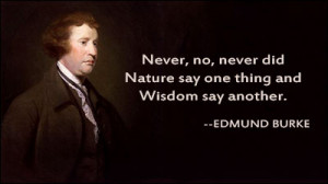 Edmund Burke Was One Of The First To Suggest That Philosophers Picture