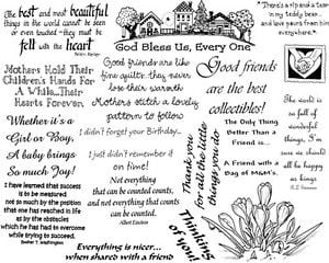... -Rubber-Stamps-Sheets-Sayings-Quotes-Friendship-Christian-Friends