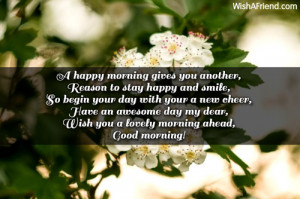 Good Morning Quotes To Make Someone Smile ~ Sweet Good Morning ...