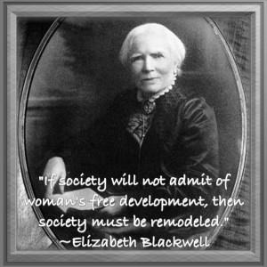 Elizabeth BlackwellWomen Scientists, Influential Women