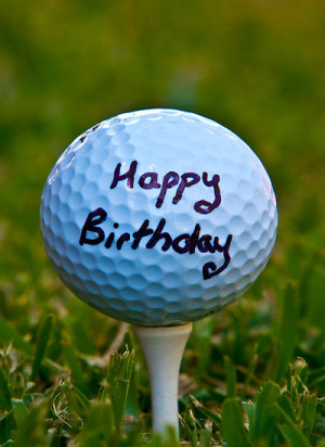 Brad McEvoy › Portfolio › Happy Birthday Golf Nut