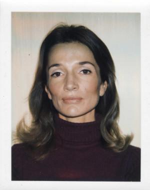 Lee Radziwill Polaroid By Andy Warhol Ca 1972