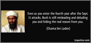 More Osama bin Laden Quotes