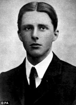 War poet: Downton Abbey actor Hugh Bonneville chose verses by Rupert ...