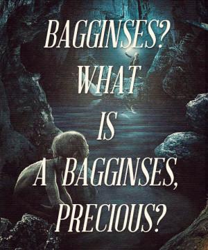 mine the hobbit bilbo baggins Gollum Smeagol hobbitgraphics