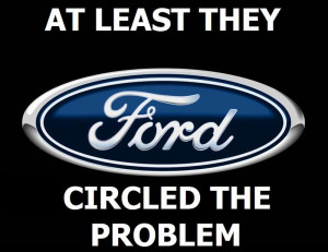 ... under legal fire from ford for supposedly violating ford s trademark