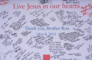 Saint Mary's Throws a Farewell Party for Brother Ron