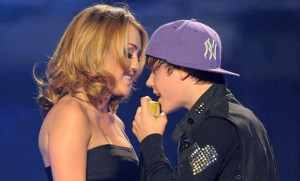 Miley Cyrus calls Justin Bieber 'stupid,' suggests he take a break
