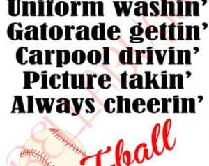 Softball Team Quotes T-ball, baseball, or softball