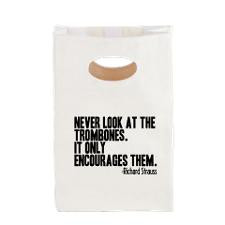 Funny Marching Band Quotes Lunch Bags