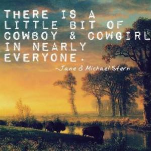 Wild West Wednesday Quote!