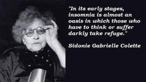 Sidonie gabrielle colette famous quotes 3