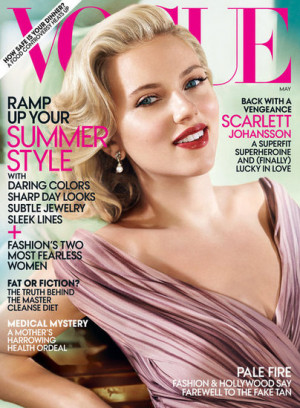 Scarlett Johansson Vogue Magazine Pictures and Quotes on Ryan Reynolds ...