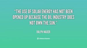 Solar Energy Quotes