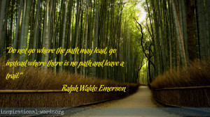 Inspirational Wallpaper Quote by Ralph Waldo Emerson
