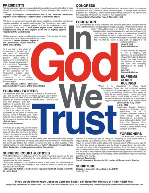 In Hobby Lobby We Don't Trust: Why Their Independence Day Ad is Full ...