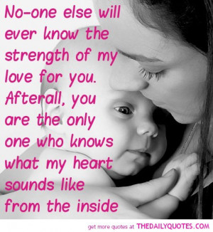 mother daughter son quotes pictures quote pics sayings Mother And ...