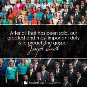lds quote. James is in this picture! he's hidden under the quote, but ...