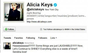 ... Alicia Keys' husband Swizz Beatz but NOT during his marriage to singer