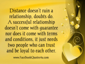 doesn t ruin a relationship doubts do a successful relationship ...