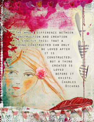 Digital Art Journal: Dickens Quote