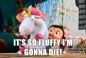 despicable me its so fluffy