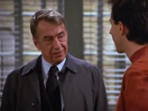 Jerry: [returning book] Any way, I hope there's no hard feelings.