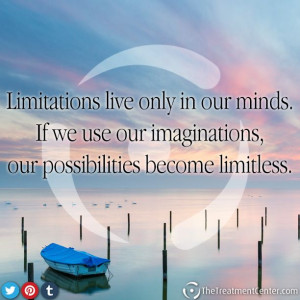 ... , our possibilities become limitless. #Imagination #Quotes #Limitless