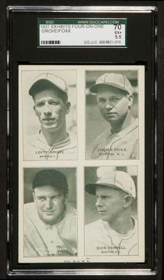 ... -on-One, with Lefty Grove, Jimmie Foxx, Joe Cronin, and Dick Ferrell