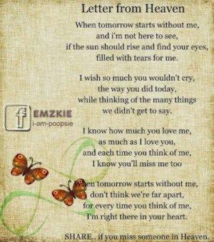 Missing someone in Heaven.Miss My Mom, Quotes, My Sons, Mom Sayings ...