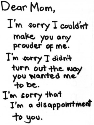 disappointment, i',m sorry, sad, text, writing