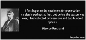 More George Bentham Quotes