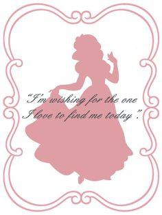 Snow White quote card More