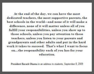 Barack Obama Quote on Education