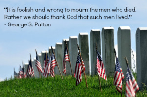 Patton, one of the most famous military generals in history, spoke of ...